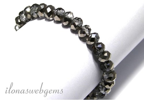Kristall Armband ca. 8x6mm