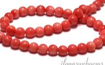 Coral Perlen 7mm
