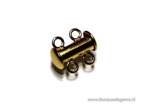 Vermeil clasp second row approximattly 13x11mm (Zi25-12)