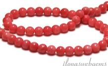 Coral Perlen stieg ca. 5.5 mm