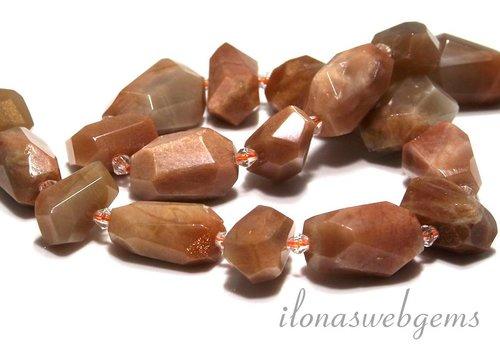 Mondstein Perlen freie Grösse ca. 20-23x11-15mm