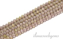 Swarovski Stil Kristall Perlen / ganze Stränge ca. 4,5x3,5mm