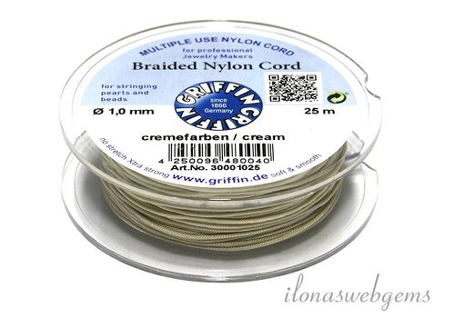 Griffin nylon cord Cream