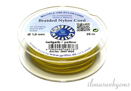 Griffin yellow nylon cord
