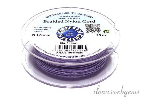 Griffin nylon cord lilac