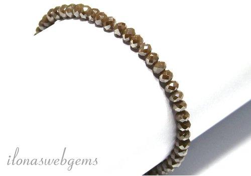 Swarovski crystal bracelet style faceted beads