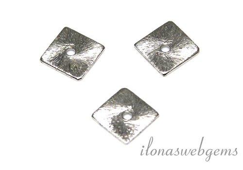 1 Stück versilberte Chips ca. 8mm