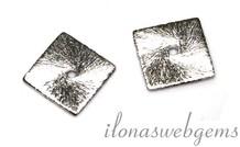 10 Silberstücke Chips ca. 10mm