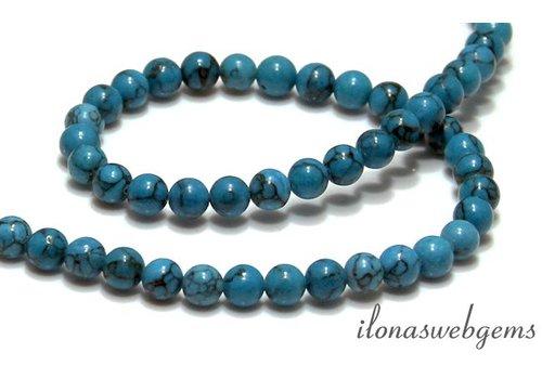 Howlite beads app. 5.5mm