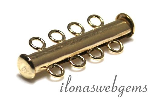 14k / 20 Gold filled magnetic lock approx. 26.5x10mm