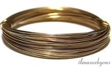 Gold gefüllt Draht hart 0.7mm / 21GA