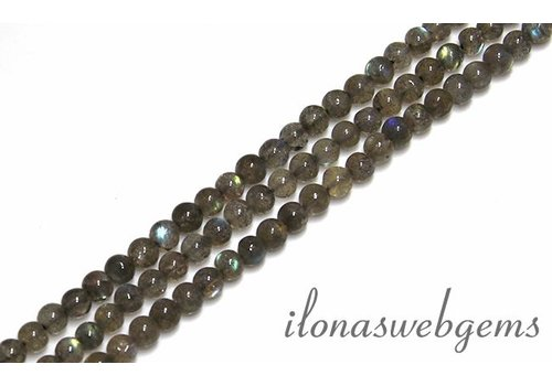 Labradorite beads about 4.3mm