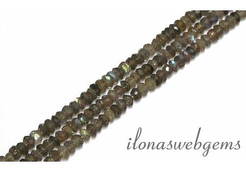 Labradorite beads around 5.2x3mm