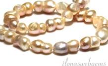 Süßwasser Perlen Doppel ca. 20x10mm
