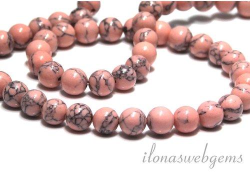 Howlith Perlen ca. 8.5 mm