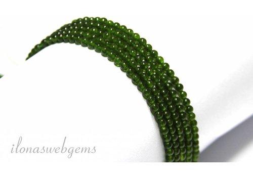 Jade kralen mini ca. 2.5mm