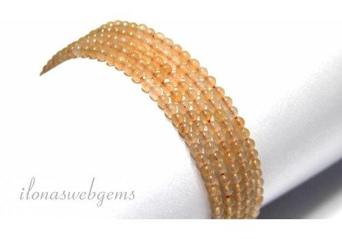 Orange Aventurine beads mini approximately 2.6mm