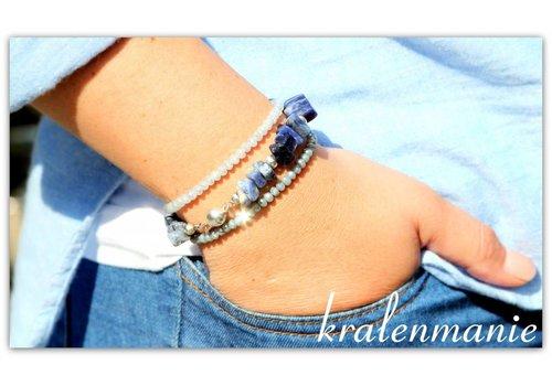 Inspiratie split kralen armbandje