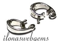 Hangeroog / Bail sterling zilver ca. 10x3mm