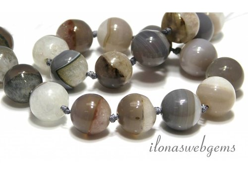 Agate beads app. 18mm