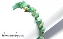 Amazonite Split Perlen Armband ca. 7,5 mm