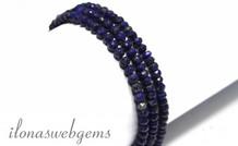 Lapis Lazuli Perlen Facetten Rondell ca. 4mm