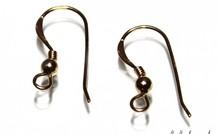 1 pair of ear hooks Goldfilled