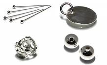 Sterling zilveren sieraad onderdelen
