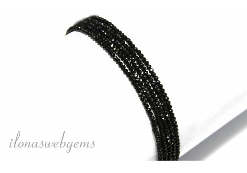 Spinell Perlen Facette Rondelle über 2x1.8mm