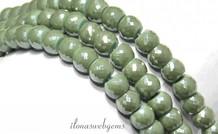 Swarovski Stil Kristall-Perlen ca. 8x5mm
