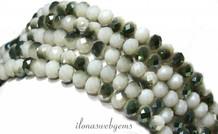 Swarovski-Kristall-Stil Perlen um 6x4.5mm