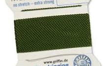 Olive: Griffin Rijgdraad Nylon