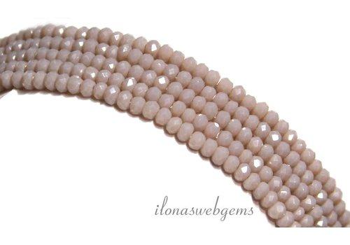 Swarovski Stil Kristall-Perlen ca. 3x2mm