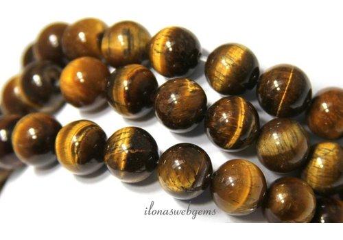 Tigereye Perlen ca. 10mm