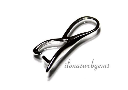1 Sterling Silver bail / hanger clasp