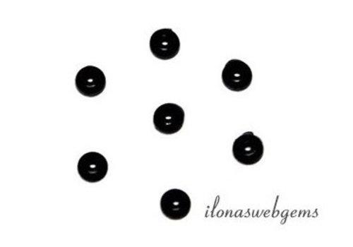 Silicone kussentjes schwarz (Alternative für knoffen) 50 stücke