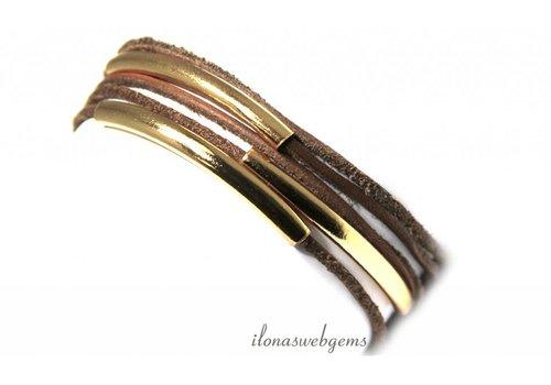 Inspiratie armband met buiskralen