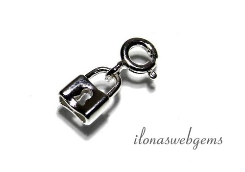 Sterling Silver Charm clasp app. 8x6mm