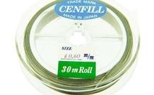 Cenfill RVS gecoat rijgdraad 0.60mm