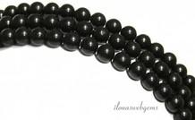 Obsidian Perlen ca. 5.7mm