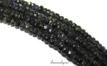 Sapphire Perlen Rondelle facettierten über 3.5x2mm