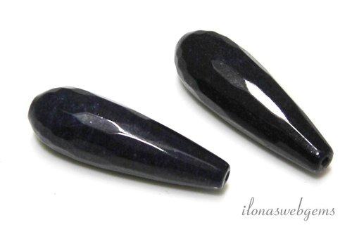 1 pair Jade facet bucks