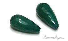 1 Paar Jade Facette Böcke