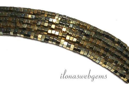 285 Stück Hämatit-Korn-1.4mm Mini-Gold ca.
