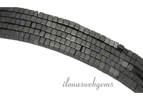 285 stuks Hematiet kralen mini ca. 1.4mm