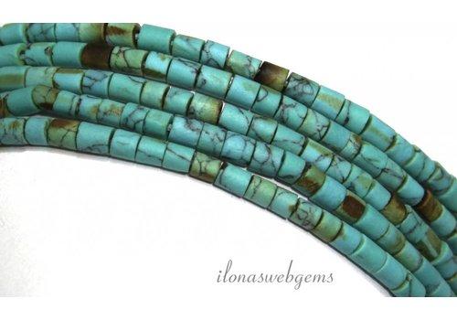 Tibetan turquoise miniatures approx. 4mm