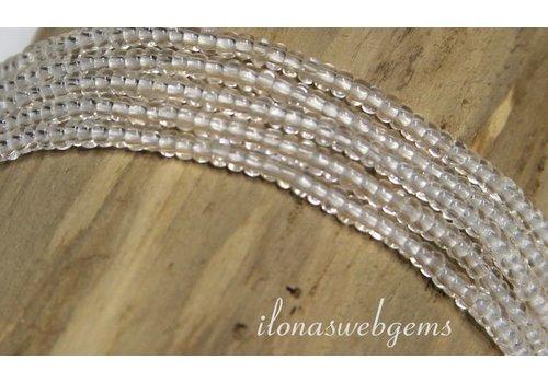 Afrikaanse glas Perlen mini ca. 1.5mm