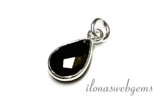 Sterling Silver Pendant with Hematite