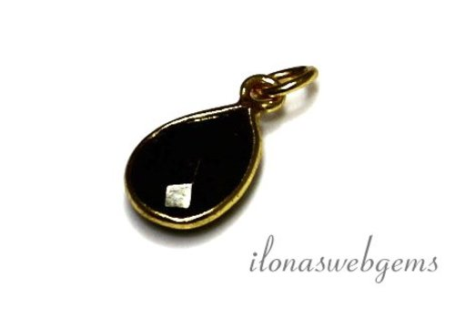 Vermeil pendant with Spinel