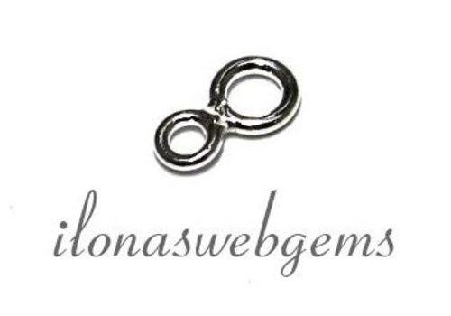 925/000 Silber Öse ca. 4 en 3mm